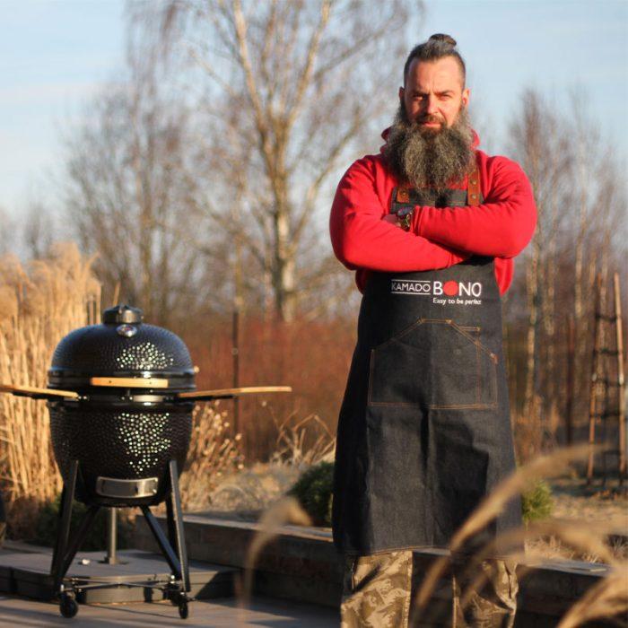 Kamado Bono Charcoal Grill